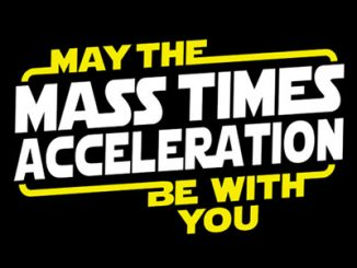 Star Wars May The Mass x Acceleration Shirt