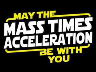 Star Wars May The Mass x Acceleration Shirt