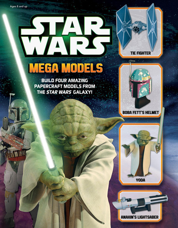Star Wars Mega Models Book