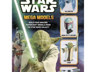 Star Wars Mega Models Papercraft Book