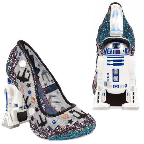 Star Wars Mesh Battlefront R2-D2 Womens Heel main