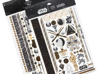 Star Wars Metallic Tattoos - 2 Pages