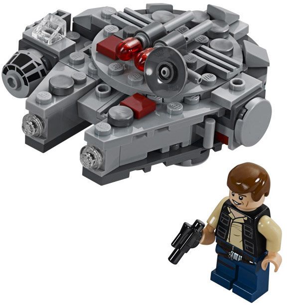 Star Wars Microfighters 75030 Millennium Falcon