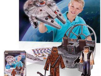 Star Wars Millennium Falcon Adventure Blueprints Papercraft