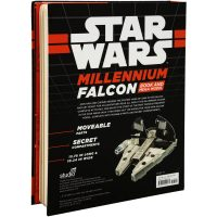Star Wars Millennium Falcon Book Back Cover