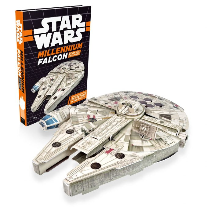 Star Wars Millennium Falcon Book and Mega Model