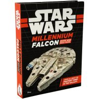 Star Wars Millennium Falcon Book and Model