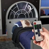 Star Wars Millennium Falcon Bookcase Bed