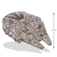 Star Wars Millennium Falcon Christmas Ornament