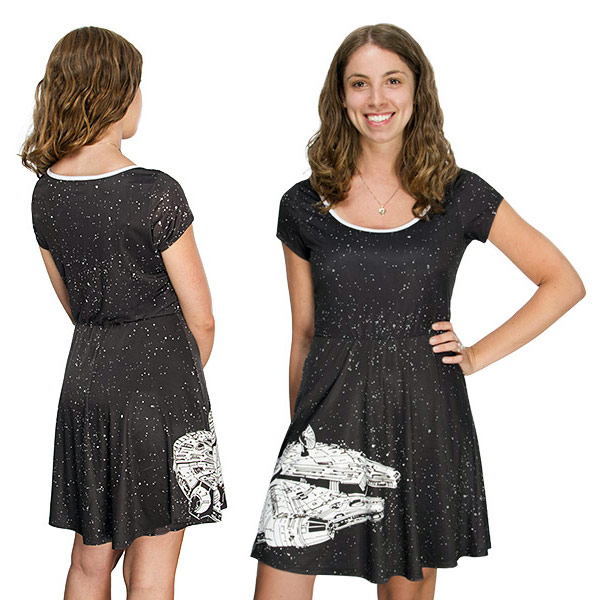 Star Wars Millennium Falcon Ladies Dress
