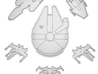 Star Wars Millennium Falcon Mirror Set