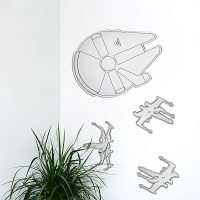 Star Wars Millennium Falcon Mirror Set