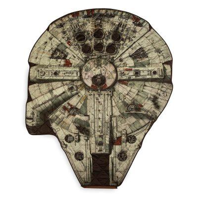 Star Wars Millennium Falcon Picnic Blanket