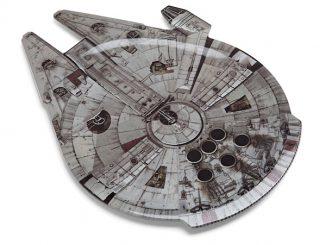 Star Wars Millennium Falcon Serving Platter