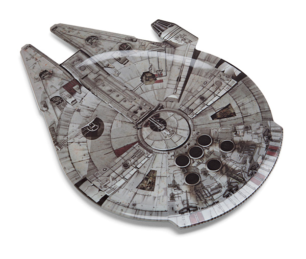 Star Wars Millennium Falcon Serving Platter