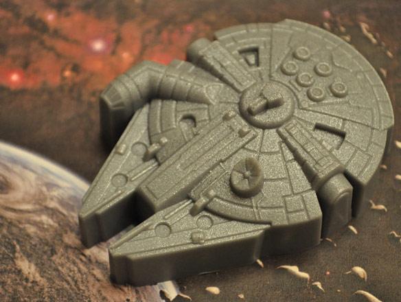 Star Wars Millennium Falcon Soap