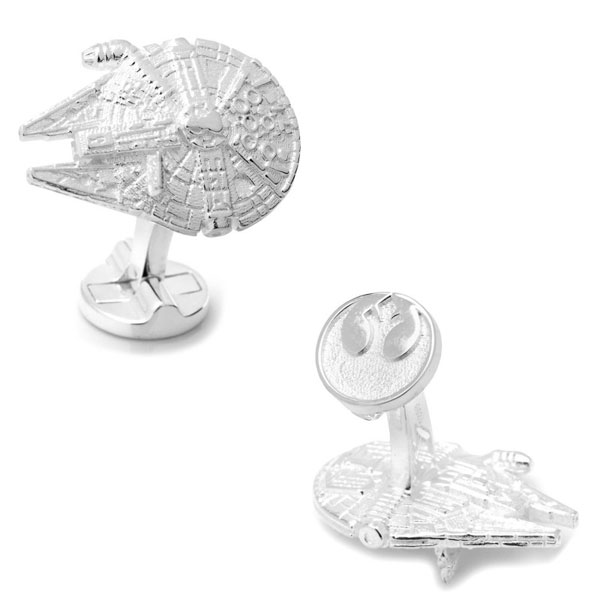 Star Wars Millennium Falcon Sterling Silver Cufflinks