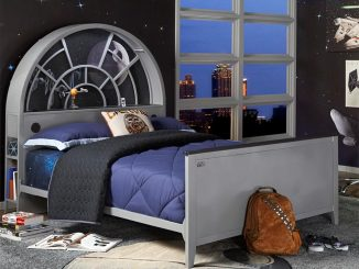 Star Wars Millennium Falcon Twin Bookcase Bed