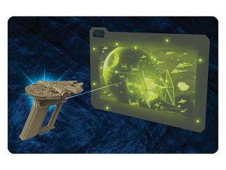 Star Wars Millennium Falcon UV Light Laser