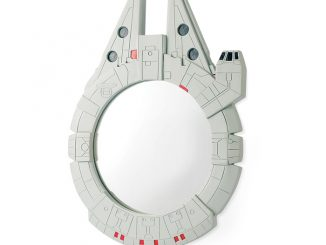 Star Wars Millennium Falcon Wall Mirror