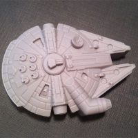 Star Wars Millennium Falcon chocolates