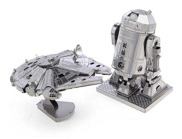 Star Wars Miniature Metal DIY Model Kits