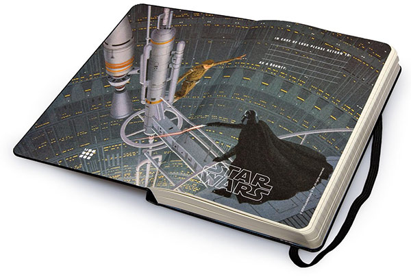Star Wars Moleskine Limited Edition 2015 Daily Planner