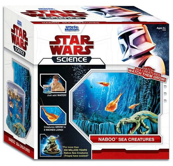 Star Wars Naboo Sea Creatures