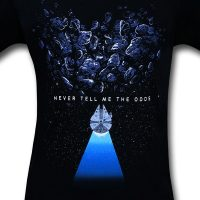 Star Wars Never Tell Me the Odds T-Shirt