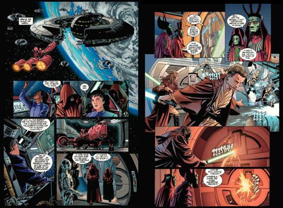 Star Wars Omnibus Complete Saga Graphic Novel