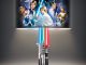 Star Wars Original Trilogy Lamp With Illuminated Lightsabers