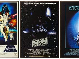 Star Wars Original Trilogy Posters Wood Wall Art