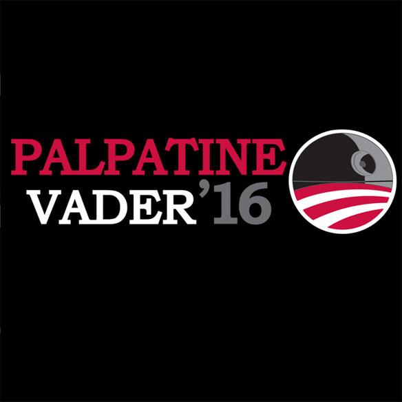Star Wars Palpatine Vader 2016 T-Shirt
