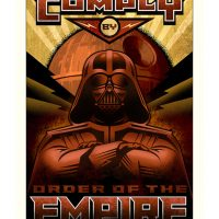 Star Wars Paper Giclee Prints - Comply by Order of the Jedi