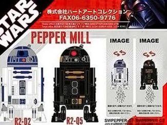Star Wars Pepper Mills