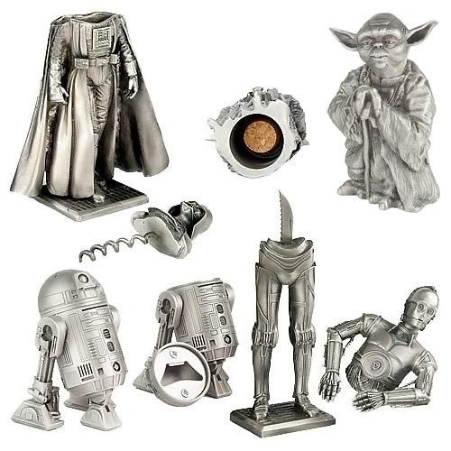 Star Wars Pewter Barware Set