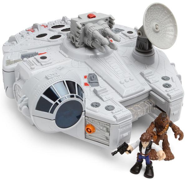 Star Wars Playskool Millennium Falcon Set