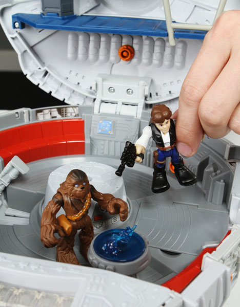 Star Wars Playskool Millennium Falcon