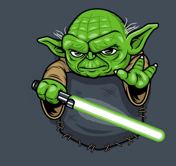Star Wars Pocket Jedi T-Shirt