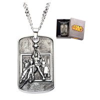 Star Wars Poster Pendant Necklace