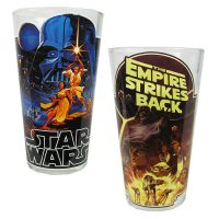 Star Wars Posters 16 oz. Pint Glass 2-Pack
