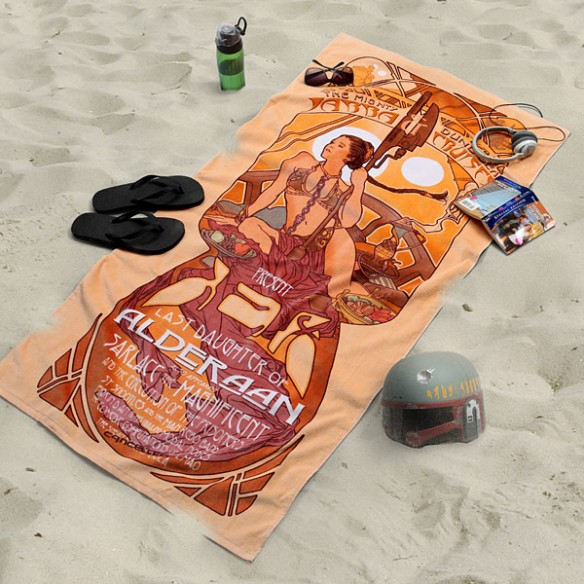 Star Wars Princess Leia Beach Towel