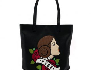 Star Wars Princess Leia Rebel Tattoo Tote Bag