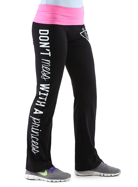 Star Wars Princess Leia Yoga Pants