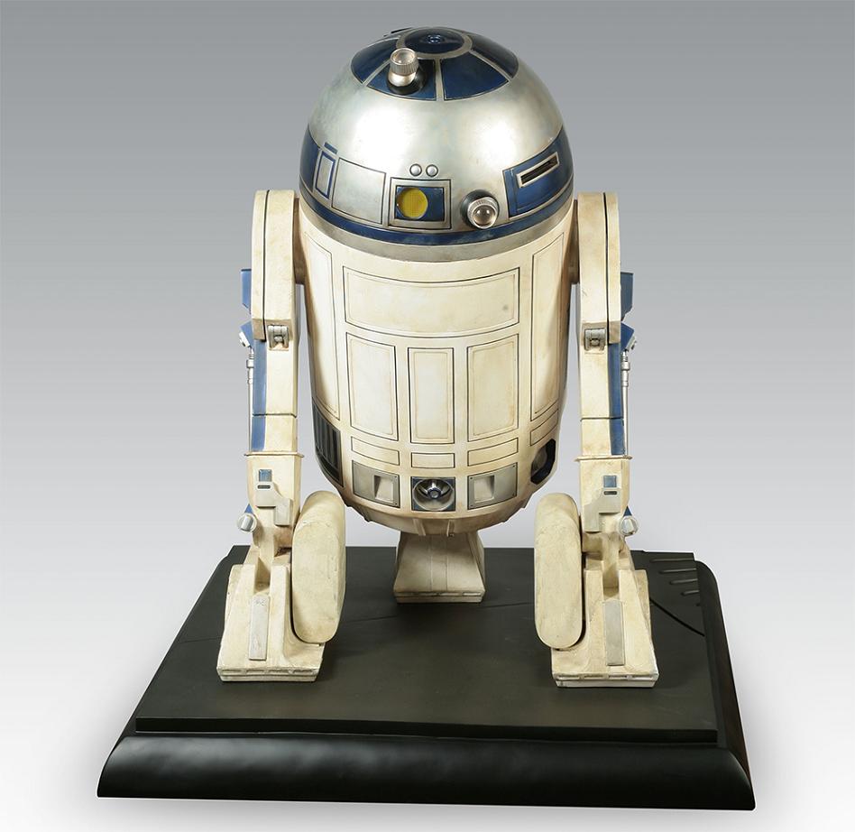 R2d2 Back Star Wars R2-D2 1:1 Sc...