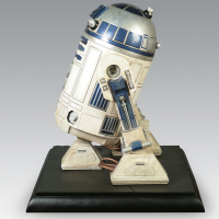 Star Wars R2-D2 1-1 Scale Life-size Statue Side