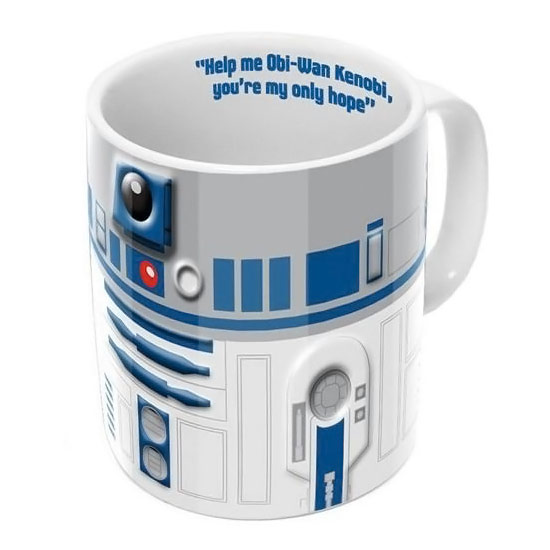 Star Wars R2 D2 3D Mug