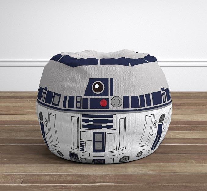 Admirable Star Wars R2 D2 Anywhere Beanbag Uwap Interior Chair Design Uwaporg
