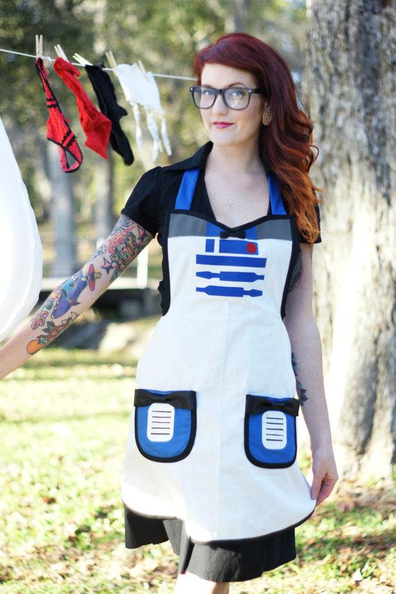Star Wars R2-D2 Apron Costume