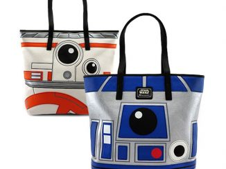 Star Wars R2-D2 & BB-8 Two-Sided Faux Leather Tote Bag